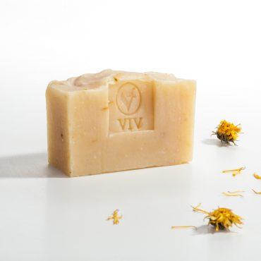 1004-NS. Домашен сапун Невен с етерично масло от иланг-иланг